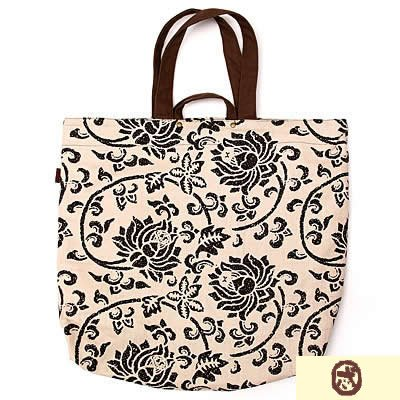 Canvas Shopping Handbag OO-HB-1041