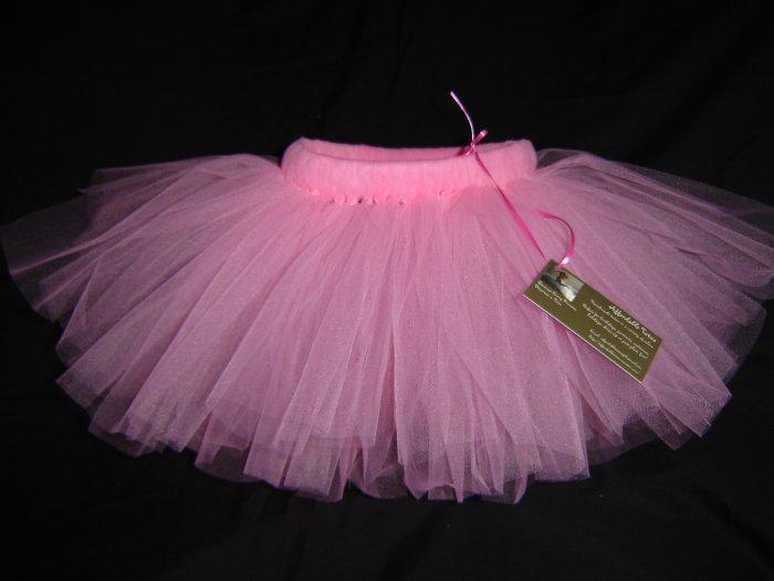 Paris Pink Tutu 0-6M Mid Thigh