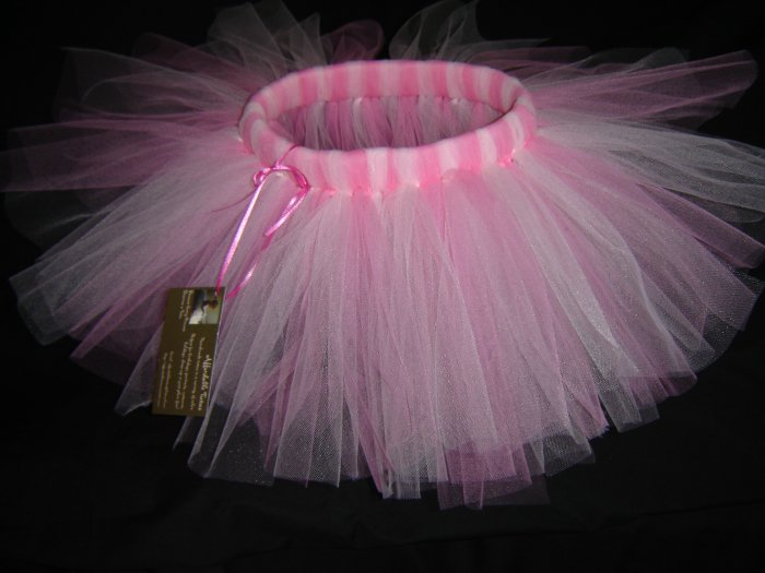 Rosette & Paris Pink Tutu 0-6M Knee Length