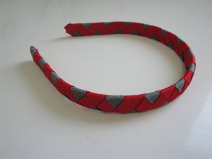 Woven Headband (Ohio State Buckeyes)