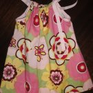 Pillowcase Dress, pink, green and yellow print, 3T, free shipping