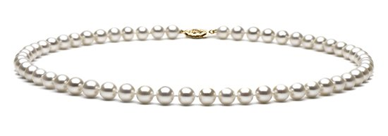 "16"" AAA Grade 6 to 7mm FreshWater Pearl Necklace"