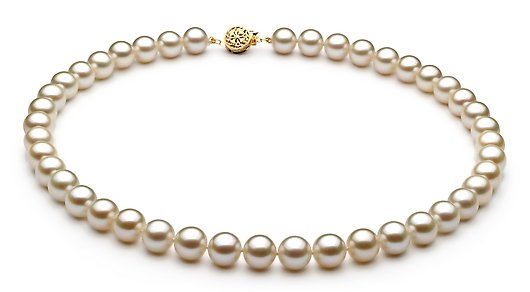 "16"" AAA Grade 7 to 8mm FreshWater Pearl Necklace"