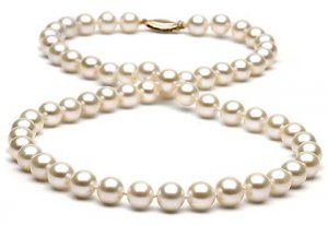 "16"" AAA Grade 10 to 11mm FreshWater Pearl Necklace"