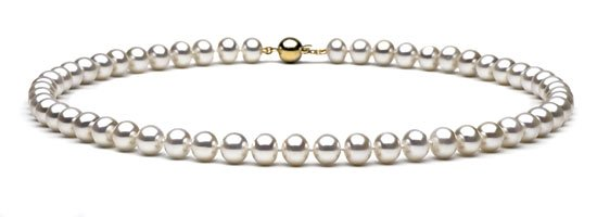 """18"""" AAA Grade 7 to 8mm FreshWater Pearl Necklace"""