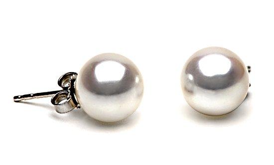 AAA Grade 9 to 10mm FreshWater Pearl Earrings