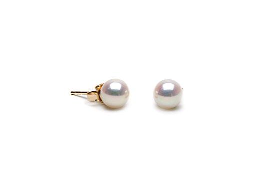 AA+ Grade 6 to 7mm FreshWater Pearl Earings