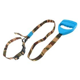 Electrostatic Dog Training Leash E-Collar - Blue & Army Color