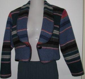 Circle T Blanket Bolero Style Western Jacket Misses Size Small