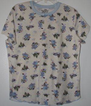 Disney Eeyore Sleep Shirt Top Tee Size Medium