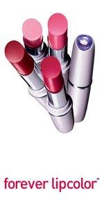 (2) Maybelline MAUVE #100 Forever Lipcolor Lipstick Lot Sealed Rare
