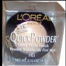 (4) L'oreal PALE Quick Powder Loreal QuickPowder Sheer Matte Finish