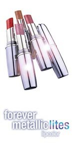 (3) Maybelline BLUSH SPARKLE #10 Forever Metallic Lites Lipstick Rare