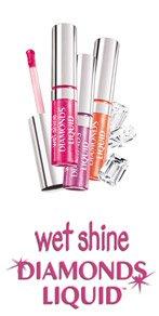 (2) Maybelline FUCHSIA LIGHTS Wet Shine Diamonds Liquid Lip Gloss Lipgloss