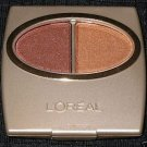 (1) Loreal AMBER WAVES Wear Infinite Eye Shadow Duo Eyeshadow Rare