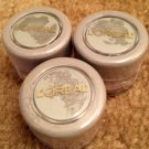 (3) Loreal AIRY AZURE On the Loose Shimmering Powder Eye Shadow Eyeshadow Lot Rare