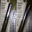 (2) Maybelline NO CREASE KHAKI Liquid Eyes Long wear Eyeshadow Rare