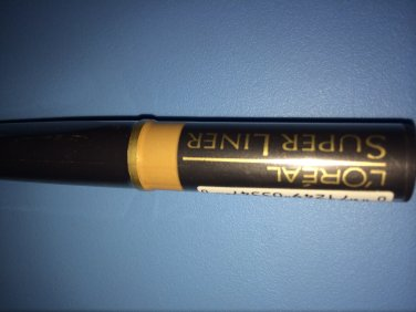 (1) L'oreal GOLD THRUSH Super Liner New Discontinued Rare