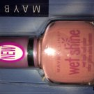 (1) Maybelline MAUVE SPLASH Wet Shine Nail Polish