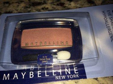 (1) Maybelline SPICED ROSE D-71 Expert Eye Eye Shadow Eyeshadow Rare