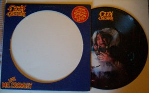 OZZY OSBOURNE LIVE MR. CROWLEY PICTURE DISC