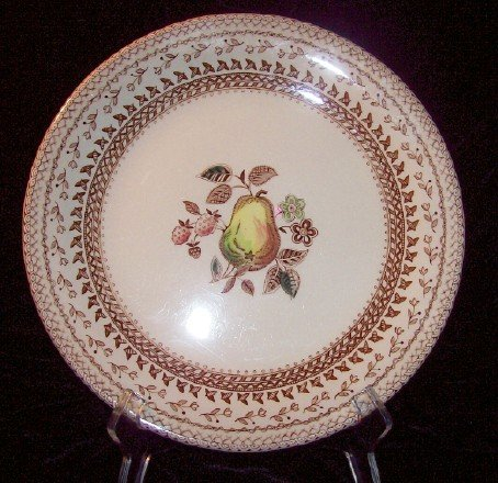 Johnson Bros Fruit Sampler Dinner Plate