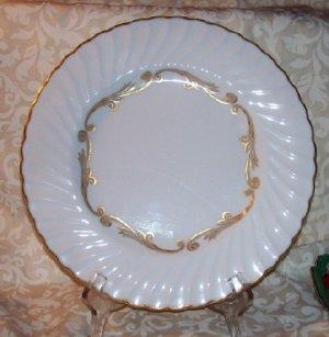 Syracuse Baroque Gray, set of 2 dinner plates