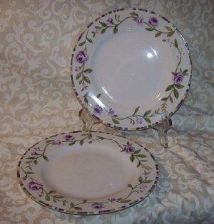 Laura Ashley GRAPEFIELDS (2) Salad Plates