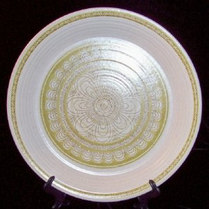 Franciscan Hacienda Green Dinner plates, lot of 2