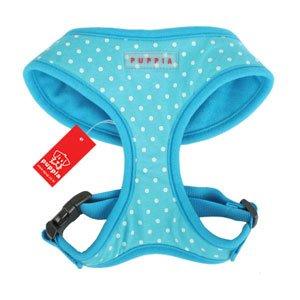 Puppia Blue Dotty Harness