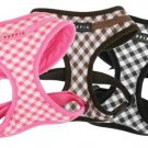Puppia Lattice Harness Brown