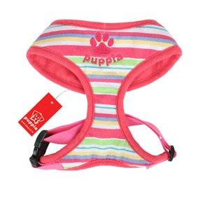 Puppia Rainbow Harness Pink