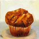 The Muffin,  Original Oil Painting