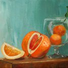 Oranges, An Original Oil Painting