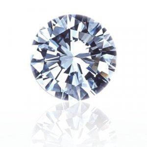 0.40 CT Round Brilliant cut Diamond-super white