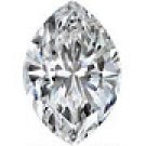 0.37 CT Marquise Cut Diamond