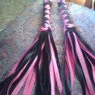 Pink & Black Flogger