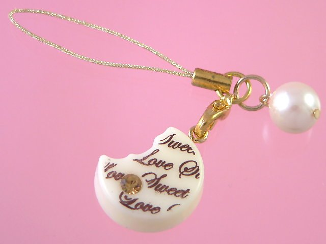 love sweet choco cell strap