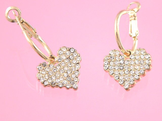 mosaic gold earrings