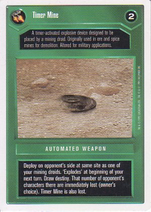 Star Wars CCG 1995 - Timer Mine