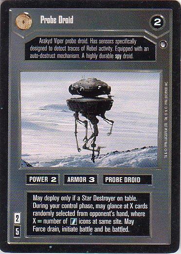 Star Wars CCG 1995 - Probe Droid