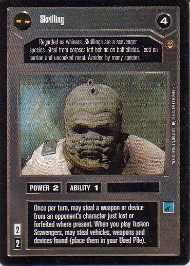 Star Wars CCG 1995 - Skrilling