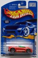 Hot Wheels 2001 Monoposto 1st Ed 19/36 #031 MOMC