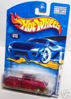 Hot Wheels 2001 La Troca 1st Ed 3/36 #015 Met Red MIP