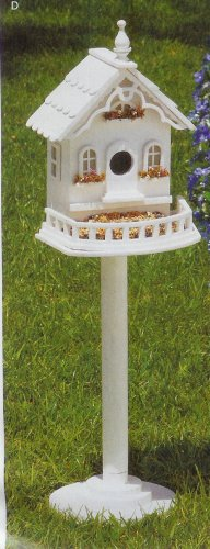 Free Standing Victorian Birdhouse