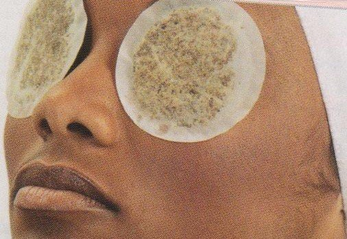 Herbal Facial with eyes pads