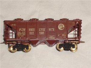 Vintage Pennsylvania 2 Bay Covered Hopper Model Railroad