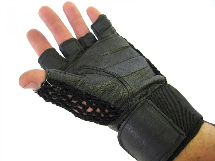Valeo Anti-Vibration Gloves With Wrist Strap Support  Choose Size Sale 24.95