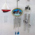 Motorcycle Chopper Sailboat Windchimes Wind Chime Chimes 12.99