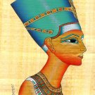 Directly from Egypt Original painted papyrus signed with certificate